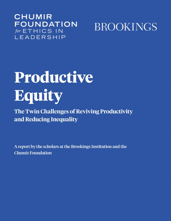 Productive equity: The twin challenges of reviving productivity and reducing inequality